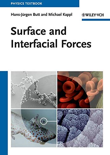 9783527408498: Surface and Interfacial Forces