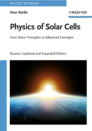 9783527408573: Physics of Solar Cells: From Basic Principles to Advanced Concepts (Physics Textbook)