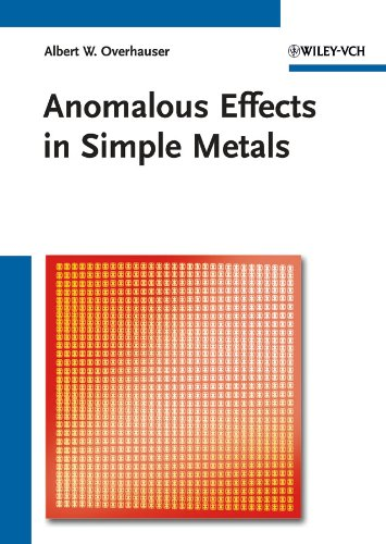 Anomalous Effects in Simple Metals: Albert W. Overhauser