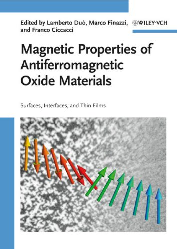 9783527408818: Magnetic Properties of Antiferromagnetic Oxide Materials: Surfaces, Interfaces, and Thin Films