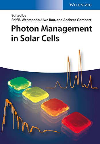 9783527411757: Photon Management in Solar Cells