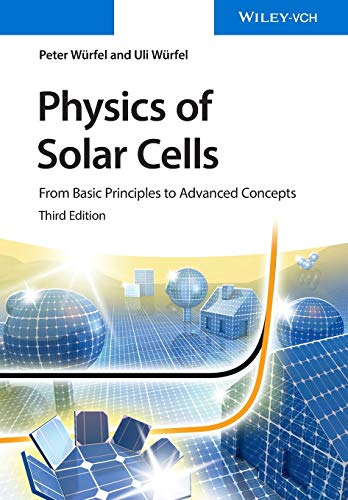 9783527413126: Physics of Solar Cells: From Basic Principles to Advanced Concepts (No Longer Used)