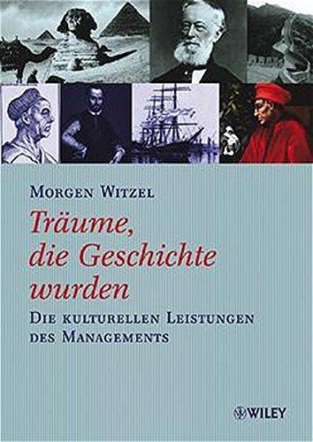 9783527500482: Traume, Die Geschichte Wurden