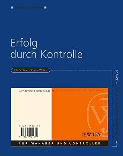 9783527501694: Erfolg Durch Kontrolle (German Edition)