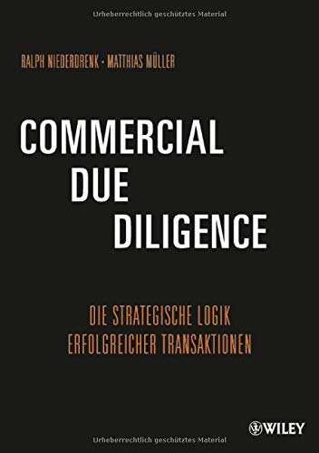9783527506682: Commercial Due Diligence