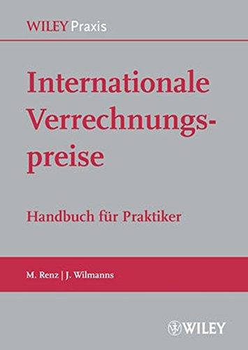 Internationale Verrechnungspreise: Martin Renz