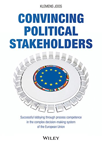 9783527508655: Convincing Political Stakeholders: Successful Lobbying Through Process Competence in the Complex Decision-making System of the European Union