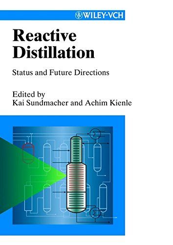 9783527600526: Reactive Distillation : Status and Future Directions