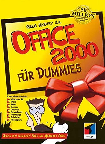 Office 2000 für Dummies (German Edition) (3527700099) by Harvey, Greg; Weverka, Peter; Walkenbach, John; Barrows, Alison; Dyszel, Bill; McCue, Camille; Dean, Damon; McCarter, Jim; Musick, Lee