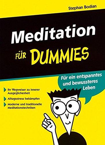 9783527700318: Meditation für Dummies (German Edition)
