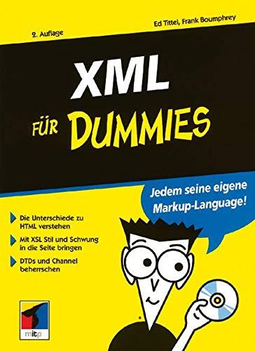 9783527700455: XML für Dummies (German Edition)