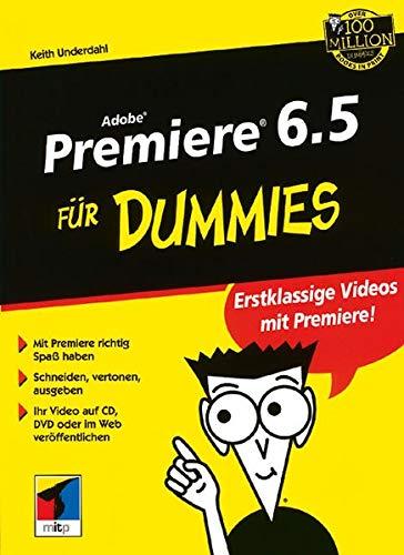 9783527700868: Adobe Premiere 6.5 Fur Dummies