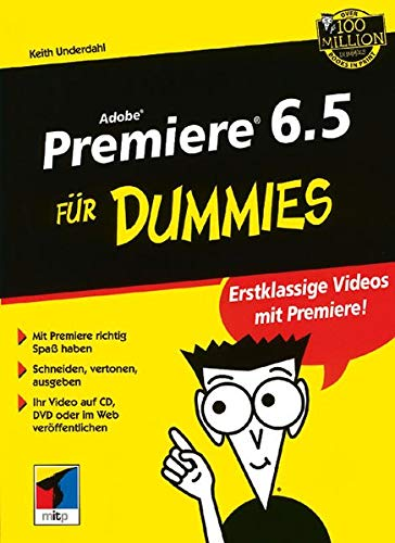 9783527700868: Adobe Premiere 6.5 Fur Dummies