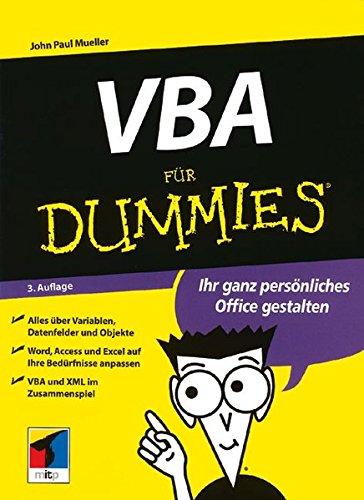 9783527701674: VBA Fur Dummies