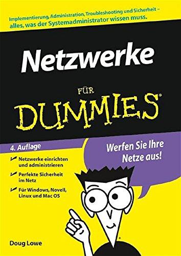 9783527702060: Netzwerke für Dummies (German Edition)