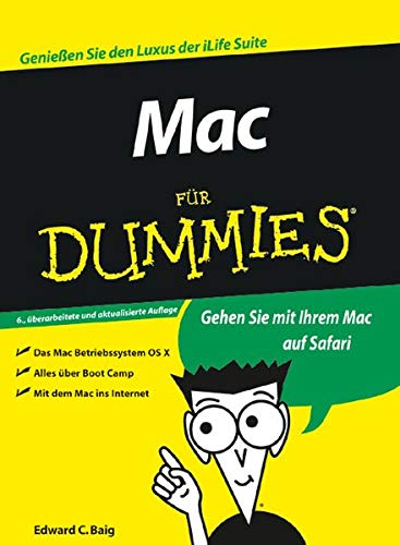 9783527703302: Mac für Dummies (German Edition)