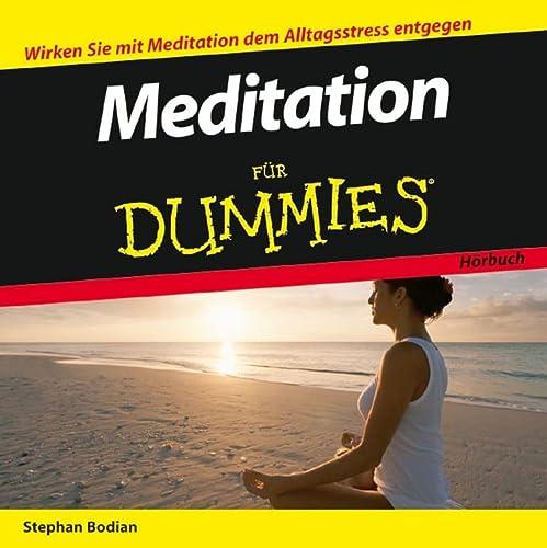 9783527703586: Meditation Fur Dummies