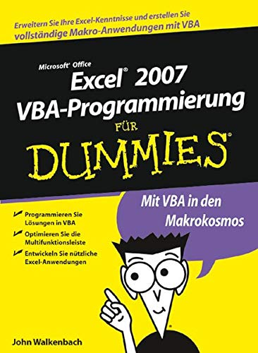 Excel 2007 VBA-Programmierung für Dummies (German Edition) (3527704116) by Walkenbach, John