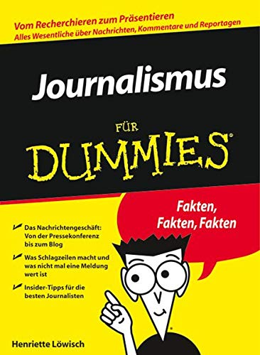 9783527704156: Journalismus Fur Dummies (English, German and German Edition)