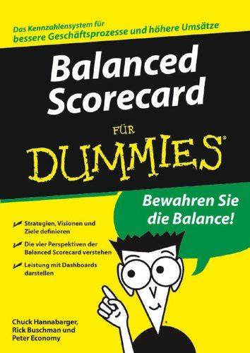 9783527704507: Balanced Scorecard für Dummies (Fur Dummies)