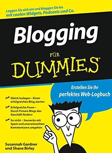 9783527704811: Blogging für Dummies (German Edition)