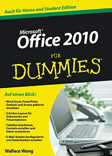 9783527706211: Office 2010 f�r Dummies (Fur Dummies)