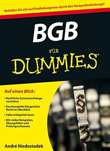 9783527707041: BGB für Dummies (German Edition)