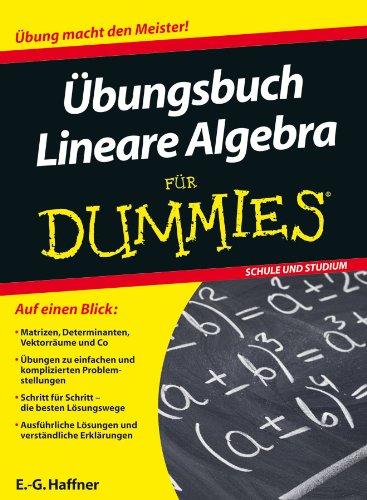 9783527707249: �bungsbuch Lineare Algebra f�r Dummies (Fur Dummies)
