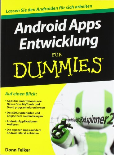 9783527707324: Android Apps Entwicklung Fur Dummies