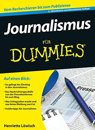 9783527707461: Journalismus Fur Dummies