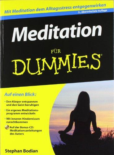 9783527707539: Meditation für Dummies (German Edition)