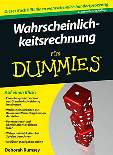 9783527707973: Wahrscheinlichkeitsrechnung Fur Dummies