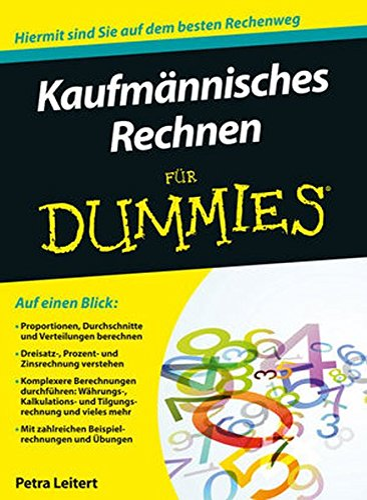 9783527708079: Kaufmannisches Rechnen Fur Dummies (German Edition)