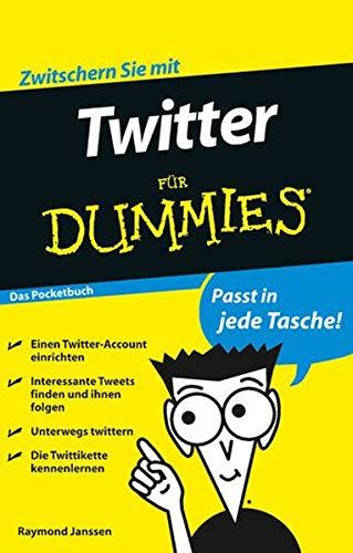 9783527708123: Twitter für Dummies Das Pocketbuch (Fur Dummies)