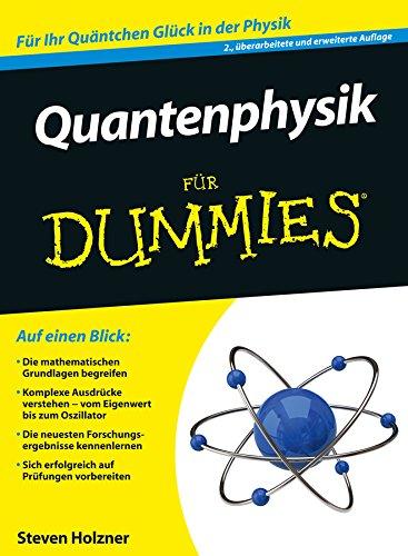 9783527708710: Quantenphysik Fur Dummies