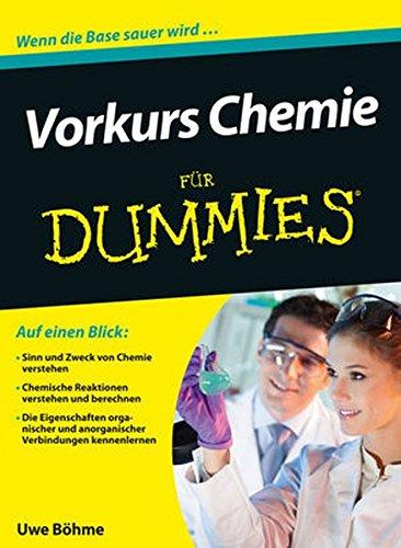 9783527709205: Vorkurs Chemie fur Dummies (Für Dummies) (German Edition)