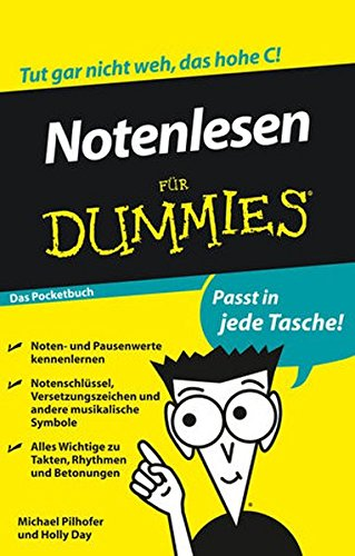 9783527709342: Notenlesen Fur Dummies das Pocketbuch