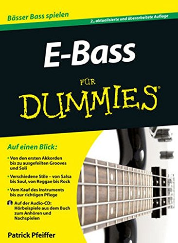 9783527709359: E-Bass Fur Dummies (German Edition)