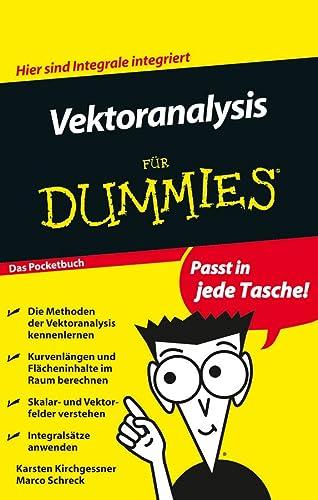 Vektoranalysis Fur Dummies (Für Dummies): Kirchgessner, Karsten; Schreck, Marco