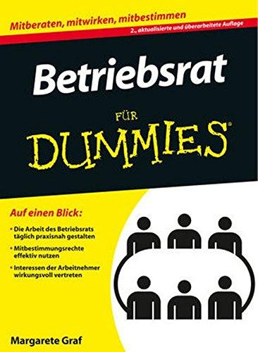 9783527709700: Betriebsrat für Dummies (German Edition)