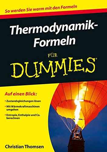 9783527709922: Thermodynamik-Formeln Fur Dummies