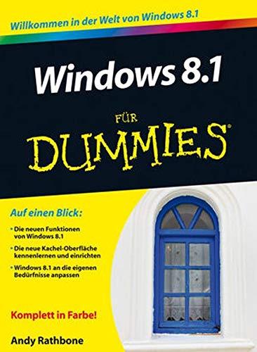 9783527710256: Windows 8.1 Fur Dummies