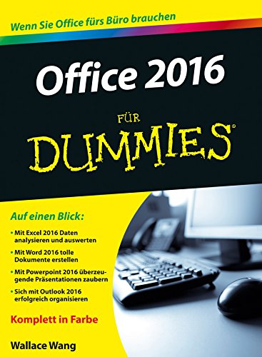 9783527711949: Office 2015 Fur Dummies (German Edition)