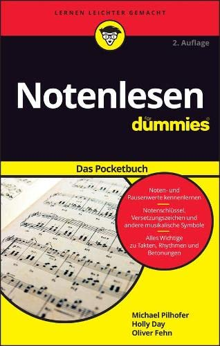 9783527712717: Notenlesen fur Dummies Das Pocketbuch