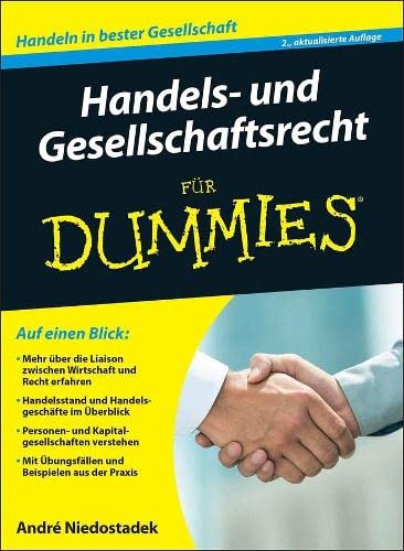 9783527712823 - Handels- und Gesellschaftsrecht für Dummies - André ...