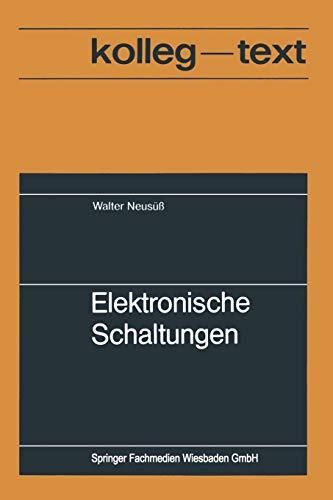 9783528008246: Elektronische Schaltungen (German Edition)