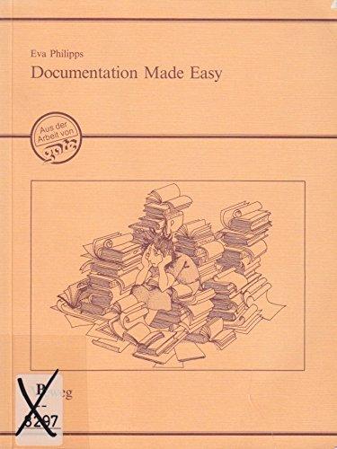 9783528020545: Documentation Made Easy