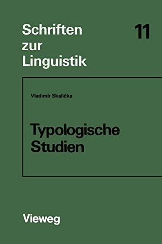 Typologische Studien - Vladimír Skalicka