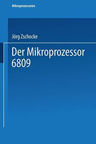 9783528044770: Der Mikroprozessor 6809