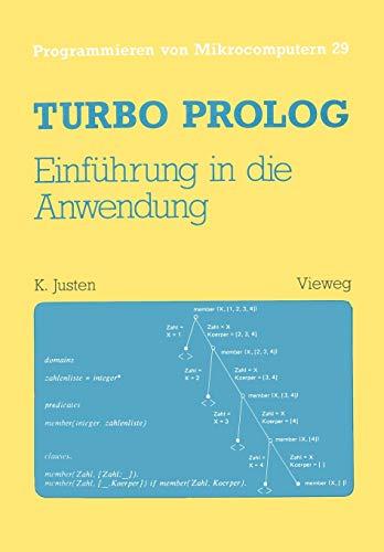 9783528045616: Turbo Prolog - Einf�hrung in die Anwendung (Programmieren von Mikrocomputern)